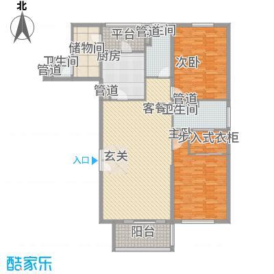 富国高银高层3号楼2-26层03户型