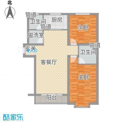 丽庄西苑户型2室1厅1卫1厨