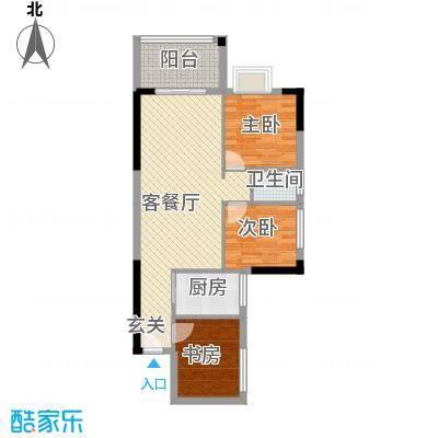 九龙新苑户型2室