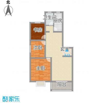 驿城花园118.00㎡A户型3室2厅1卫1厨