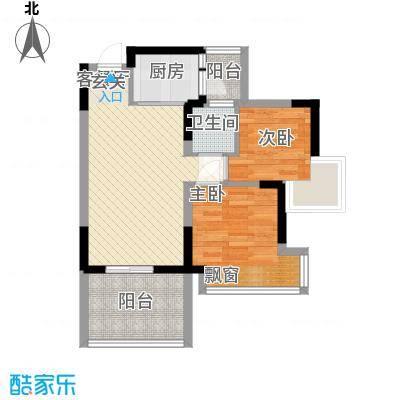 四海花园户型2室