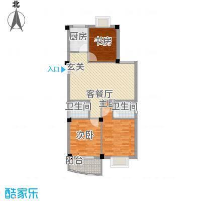 胜利新村13.00㎡户型3室