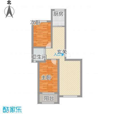 燕鑫花苑3.41㎡户型