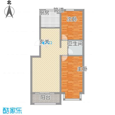 燕鑫花苑13.44㎡户型