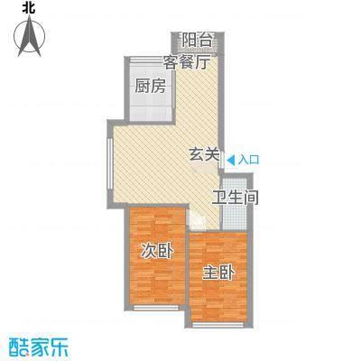 广澳大厦户型2室