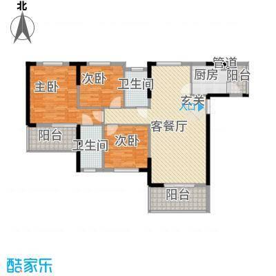 香港映象户型3室