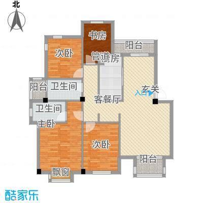 金丰阳光户型4室2厅1卫1厨