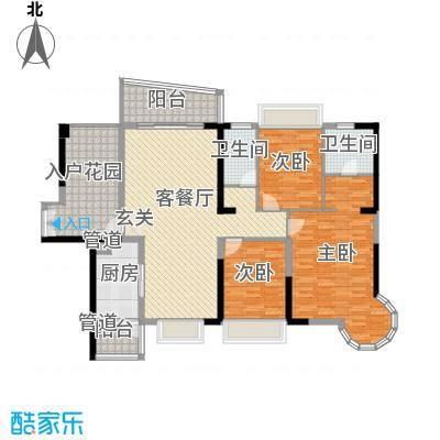 强兴楼户型3室