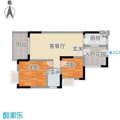 融科海阔天空二期二期13、14、15号楼B1(标准层)户型