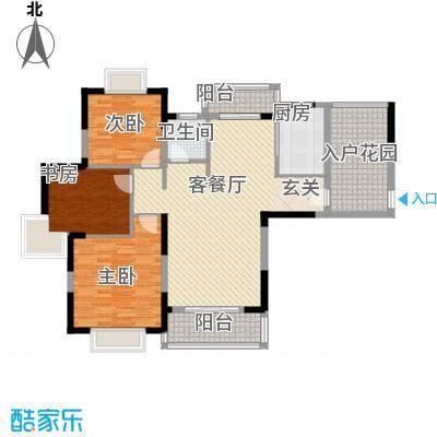 新华阳光国际户型3室