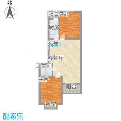 国泉城3.55㎡E1户型