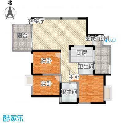华润广场户型3室