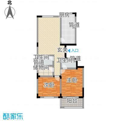 华丰居户型2室