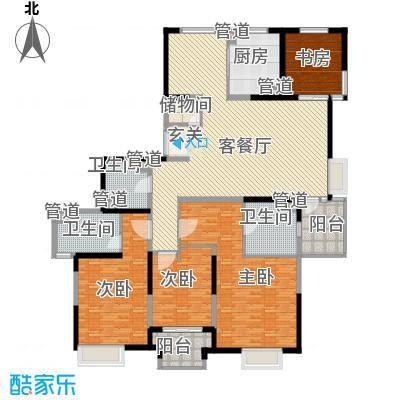 欧韵艺墅公寓245.00㎡户型