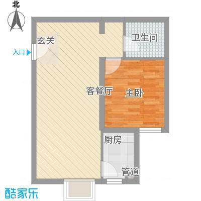 御龙庭67.50㎡太原户型