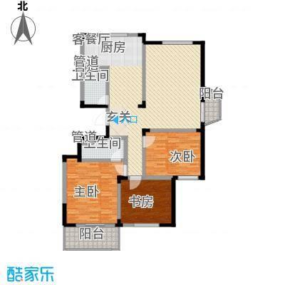 华丰居户型3室