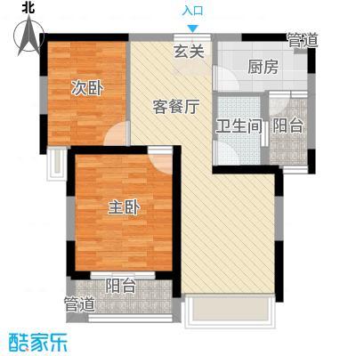聚金万佳苑81.00㎡户型2室