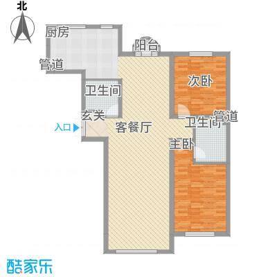 金水花城三期金水花城(三期)奥运金版户型2室