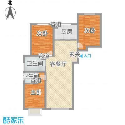 植物园宿舍花1户型3室