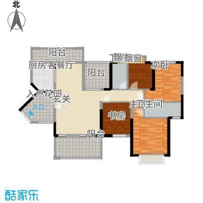 熙园山院15.00㎡户型4室