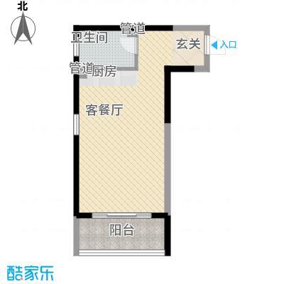 博辉戴河国际酒店式公寓户型