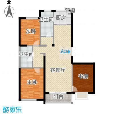 东亚国际城128.63㎡7号楼户型