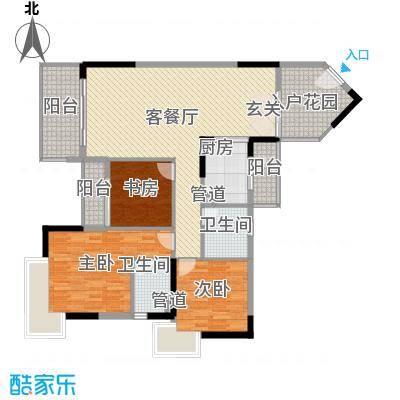 盛天龙湾125.25㎡7#、8#户型