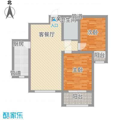 盛世・帝景湾1.71㎡R1户型