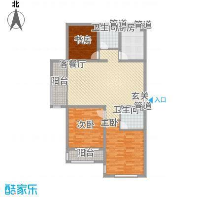 盛世・帝景湾142.20㎡P3户型