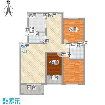 盛世・帝景湾137.10㎡M1户型