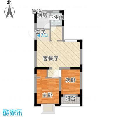 潇湘大厦62.00㎡户型2室