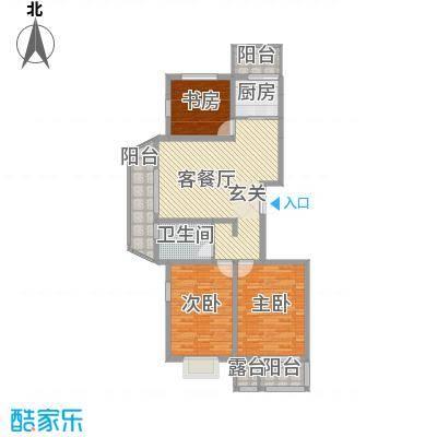 浦东经典家园9户型