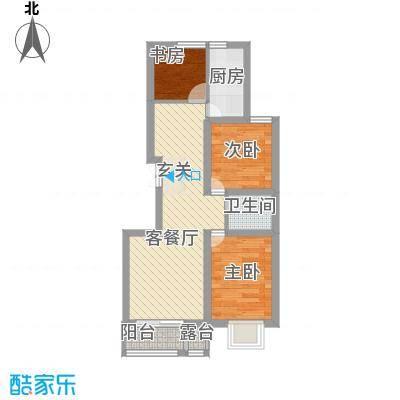 浦东经典家园6户型