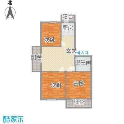锦江花园四区17.70㎡户型