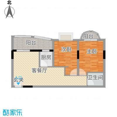 铁湖书院1.82㎡A座0户型2室2厅1卫1厨