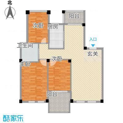 雷孟德星光中心18.00㎡户型2室2厅1卫1厨