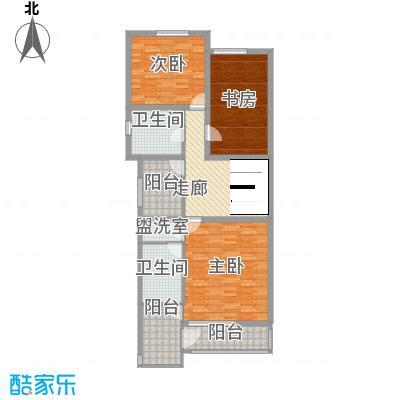 传输局宿舍户型3室1厅1卫1厨
