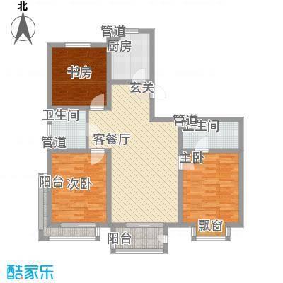 稼悦小区园中园5户型3室2厅1卫1厨