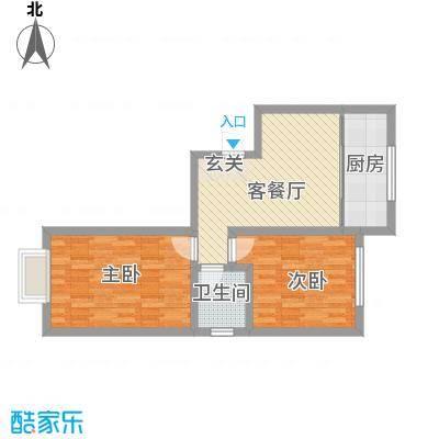 青城一号公馆新1户型2室
