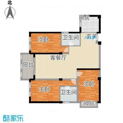 芙蓉名园户型3室