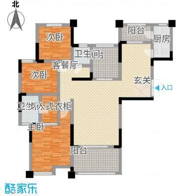 金科公园王府158.00㎡户型2室