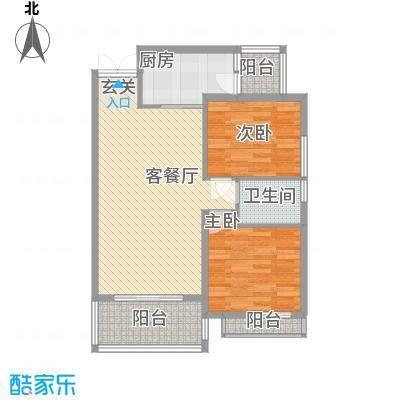 军工3541社区6.00㎡户型2室