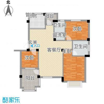 荣安花园116.80㎡D1-301户型