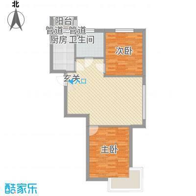 辰宇枫景瑞阁8.00㎡辰宇・枫景瑞阁户型2室