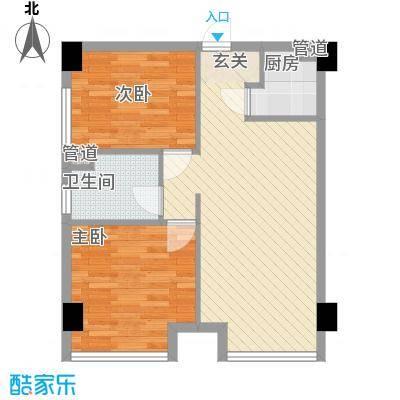 百丈苑10户型2室1厅1卫1厨