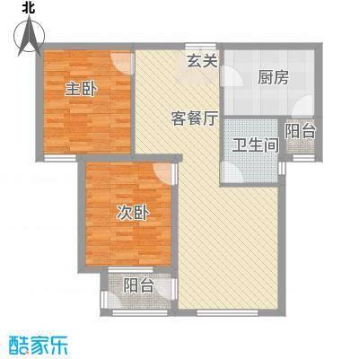 亲凤苑户型2室