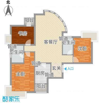 荔景湾豪苑户型2室