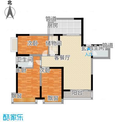 近水楼台8.00㎡户型2室
