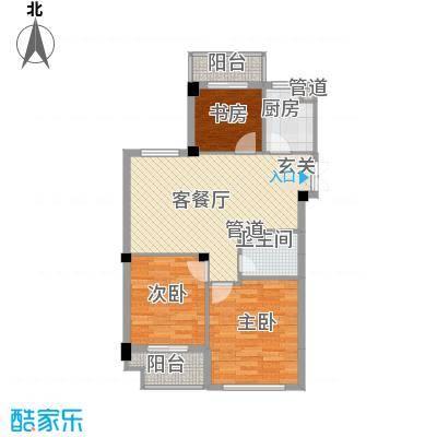 龙泉都市华庭户型3室