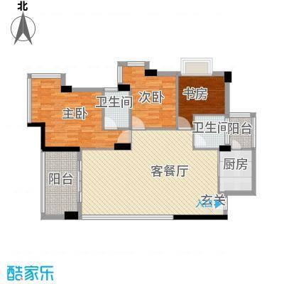 华茂大厦123.00㎡户型3室
